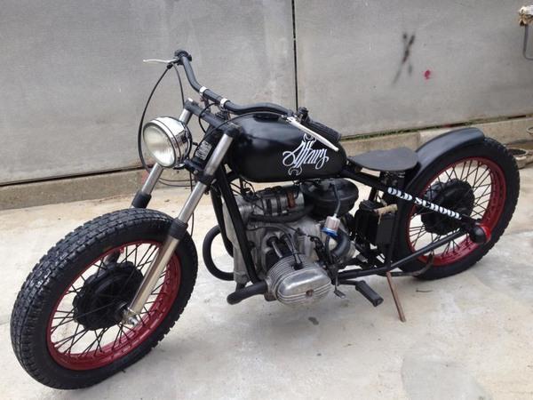 Фотогалерея мотоциклов Бобберов (Bobber) - фото 22