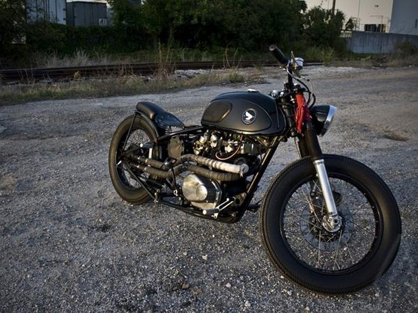 Фотогалерея мотоциклов Бобберов (Bobber) - фото 1