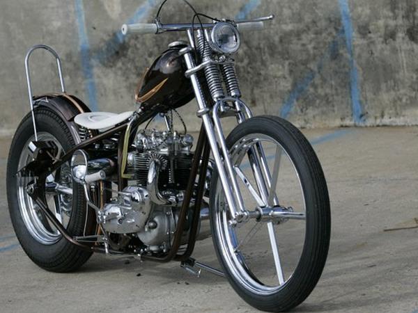 Фотогалерея мотоциклов Бобберов (Bobber) - фото 2