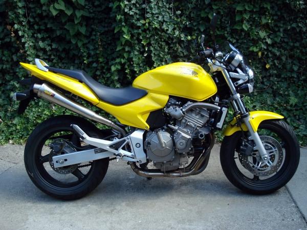 Фотогалерея мотоцикла Honda Hornet (Хонда Хорнет) CB 600 F - фото 12