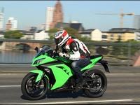 Разбираем модель мотоцикла Kawasaki Ninja 300