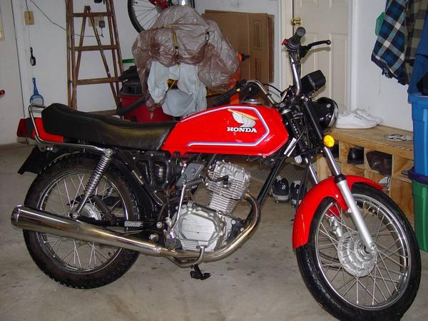 Фотогалерея мотоцикла Honda CB 125 - фото 9