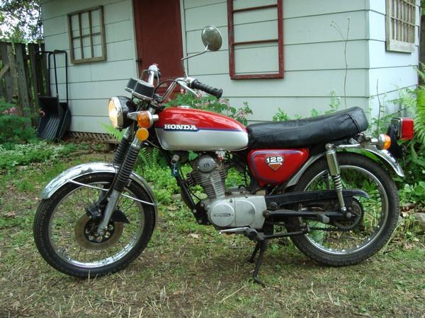 Фотогалерея мотоцикла Honda CB 125 - фото 11