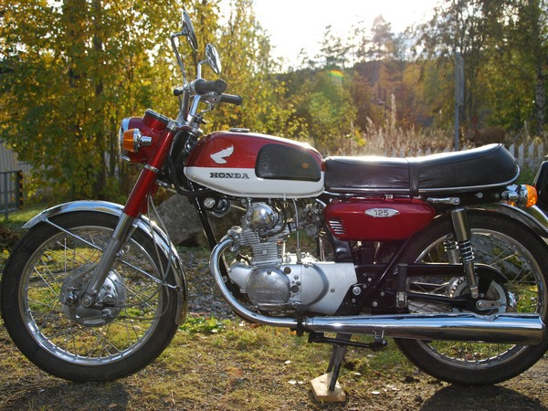 Фотогалерея мотоцикла Honda CB 125 - фото 15