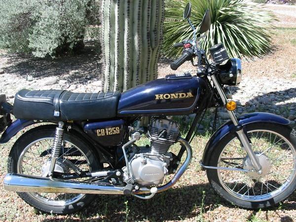 Фотогалерея мотоцикла Honda CB 125 - фото 17