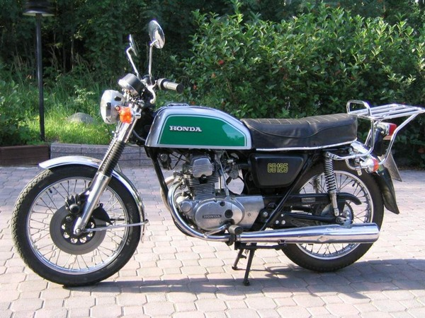 Фотогалерея мотоцикла Honda CB 125 - фото 18