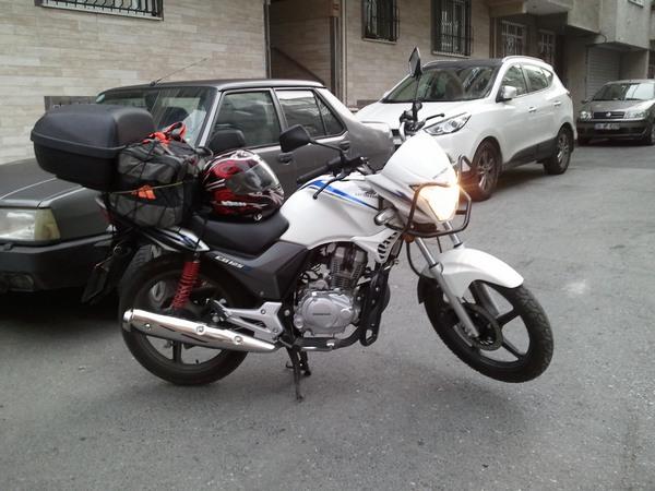 Фотогалерея мотоцикла Honda CB 125 - фото 19