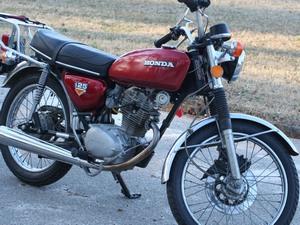 Средняя стоимость модели Honda CB 125