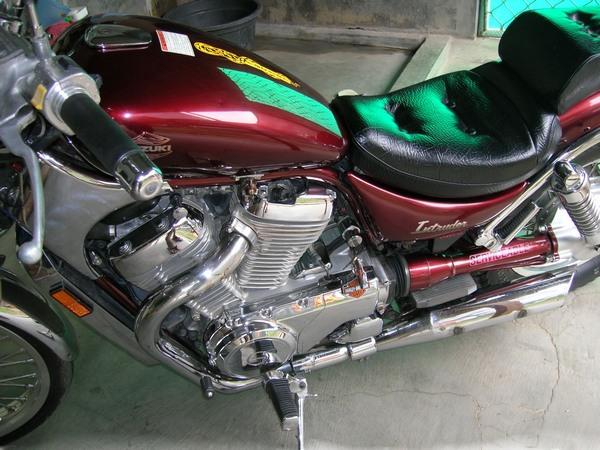 Фотогалерея мотоцикла Сузуки Интрудер 400 - фото 2