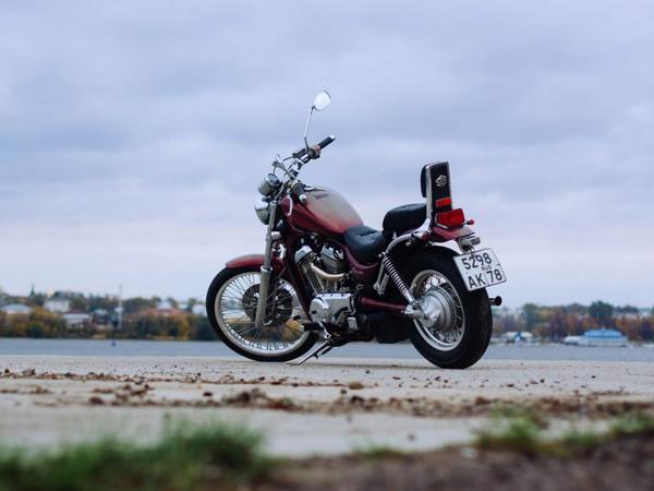 Фотогалерея мотоцикла Сузуки Интрудер 400 - фото 10
