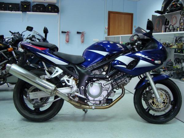 Фотогалерея мотоцикла Suzuki (Сузуки) SV (СВ) 400S  - фото 10