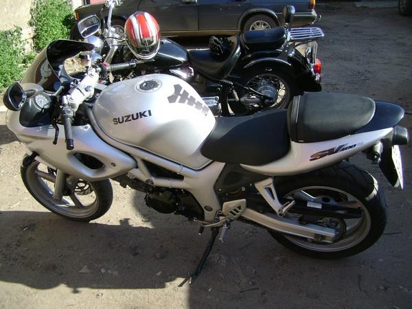 Фотогалерея мотоцикла Suzuki (Сузуки) SV (СВ) 400S  - фото 12