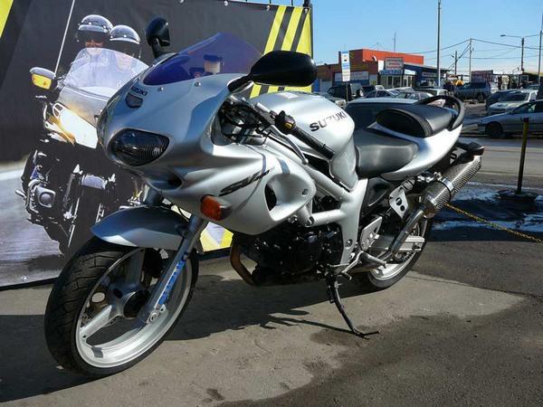Фотогалерея мотоцикла Suzuki (Сузуки) SV (СВ) 400S  - фото 13