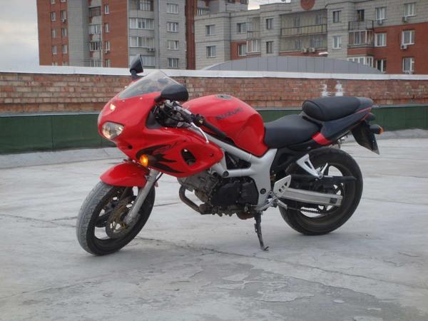Фотогалерея мотоцикла Suzuki (Сузуки) SV (СВ) 400S  - фото 15