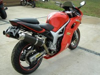 Облик мотоцикла Suzuki SV 400
