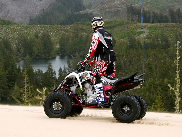 Фотогалерея Yamaha Raptor (Ямаха Раптор) 700R - фото 4