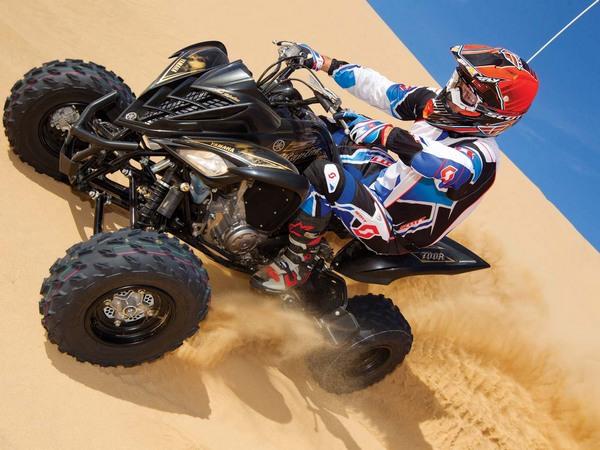 Фотогалерея Yamaha Raptor (Ямаха Раптор) 700R - фото 5