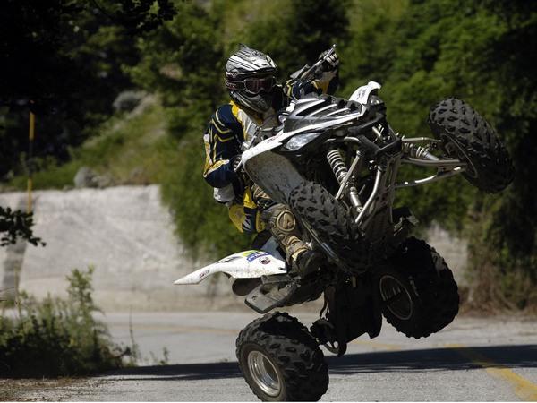 Фотогалерея Yamaha Raptor (Ямаха Раптор) 700R - фото 2