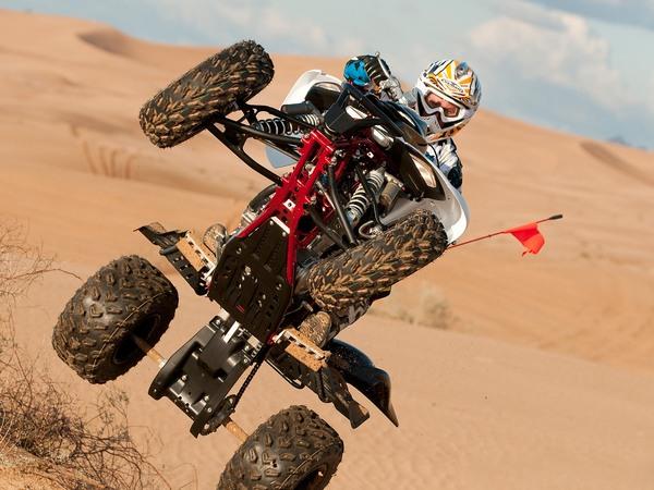 Фотогалерея Yamaha Raptor (Ямаха Раптор) 700R - фото 3