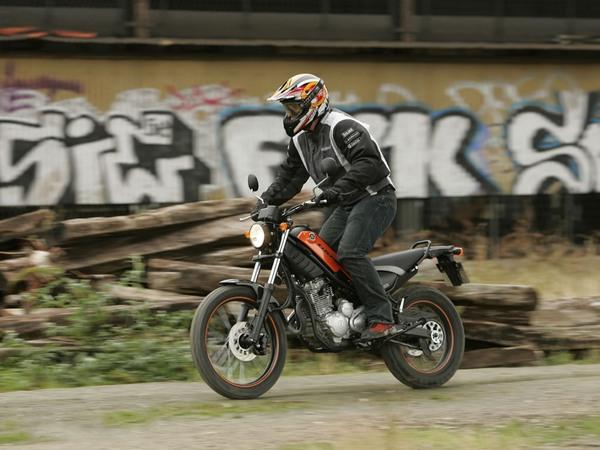Фотогалерея мотоцикла Yamaha Tricker 250 - фото 6