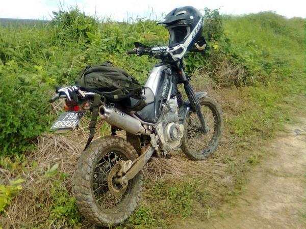 Фотогалерея мотоцикла Yamaha Tricker 250 - фото 12