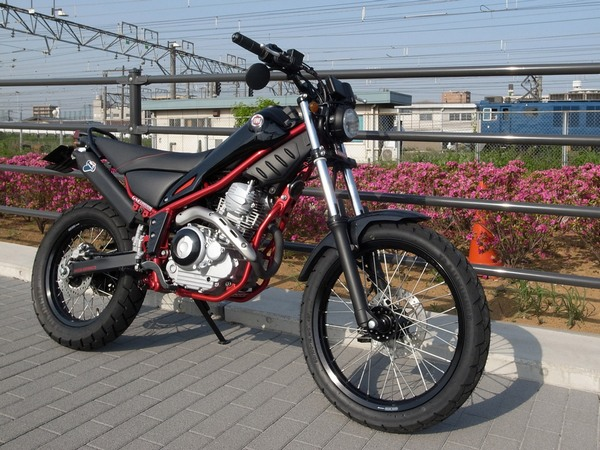 Фотогалерея мотоцикла Yamaha Tricker 250 - фото 14