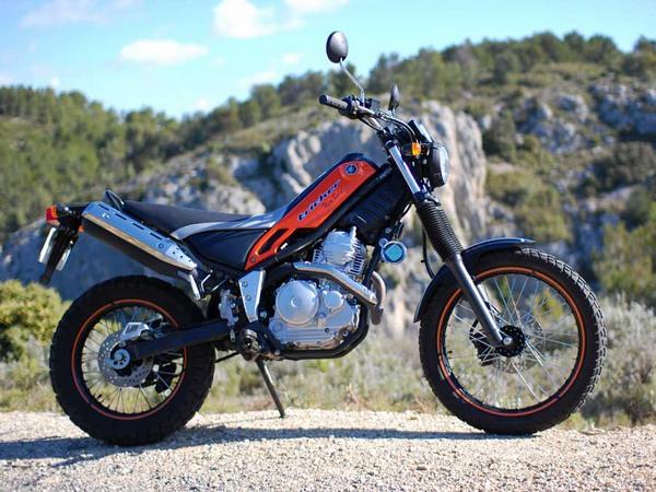 Фотогалерея мотоцикла Yamaha Tricker 250 - фото 15