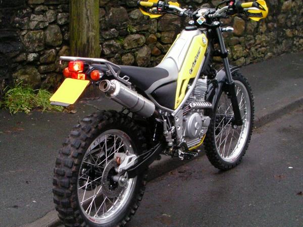 Фотогалерея мотоцикла Yamaha Tricker 250 - фото 16