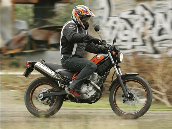 Фотогалерея мотоцикла Yamaha Tricker 250 - фото 18