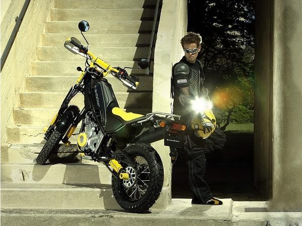 Фотогалерея мотоцикла Yamaha Tricker 250 - фото 21