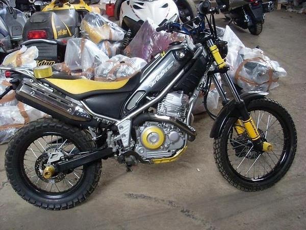 Фотогалерея мотоцикла Yamaha Tricker 250 - фото 4