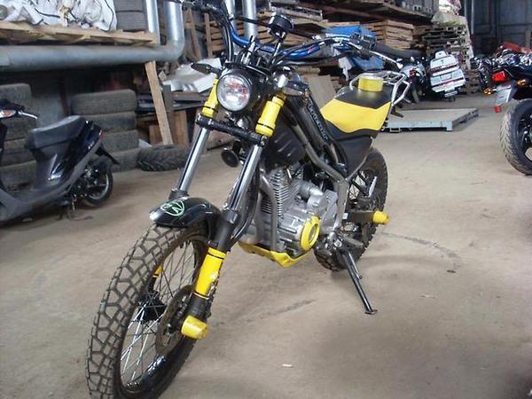 Фотогалерея мотоцикла Yamaha Tricker 250 - фото 5