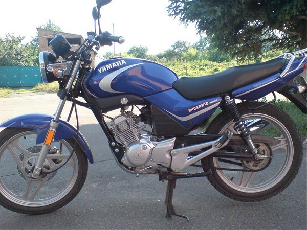 Фотгалерея мотоцикла Yamaha  YBR (Ямаха ЮБР) 125 - фото 10