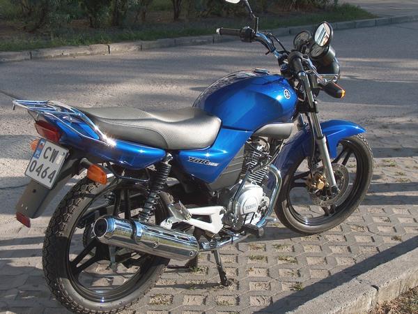 Фотгалерея мотоцикла Yamaha  YBR (Ямаха ЮБР) 125 - фото 17