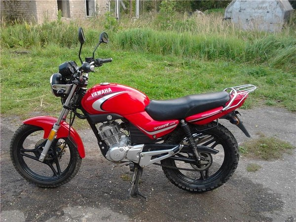 Фотгалерея мотоцикла Yamaha  YBR (Ямаха ЮБР) 125 - фото 18