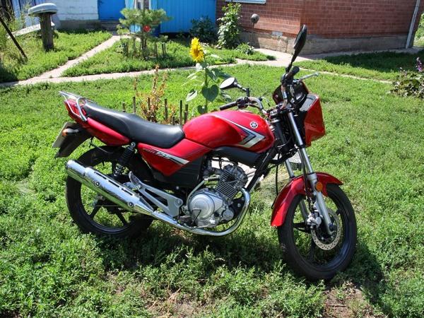 Фотгалерея мотоцикла Yamaha  YBR (Ямаха ЮБР) 125 - фото 21