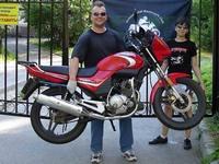 Ямаха ЮБР - мотоцикл с характером