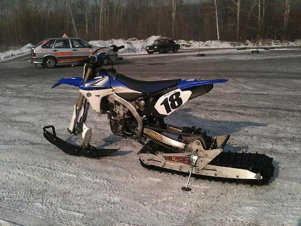 Фотогалерея мотоциклов на гусенице - фото 7