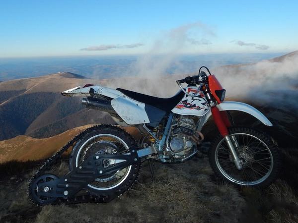 Фотогалерея мотоциклов на гусенице - фото 13
