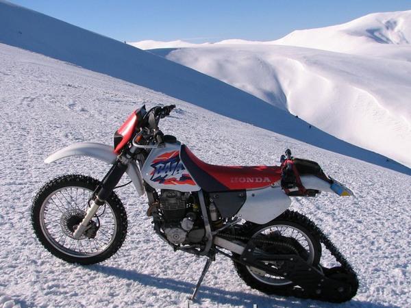 Фотогалерея мотоциклов на гусенице - фото 15