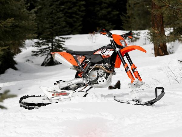 Фотогалерея мотоциклов на гусенице - фото 17