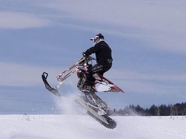 Фотогалерея мотоциклов на гусенице - фото 19