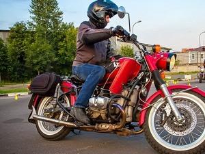 Удобство на мотоцикле Соло Урал