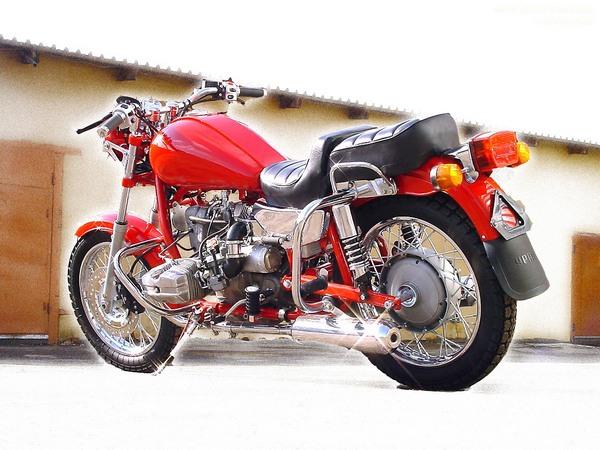 Фотогалерея мотоцикла Ural Solo (Урал Соло) - фото 19