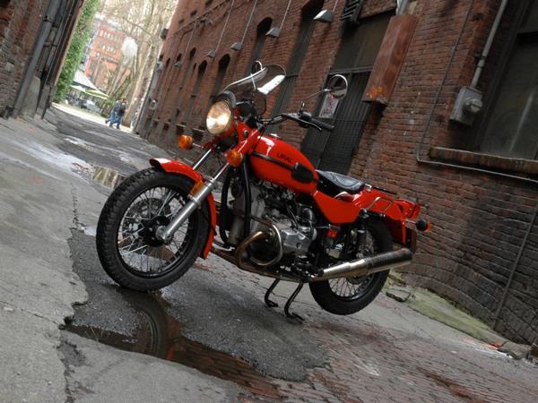 Фотогалерея мотоцикла Ural Solo (Урал Соло) - фото 2