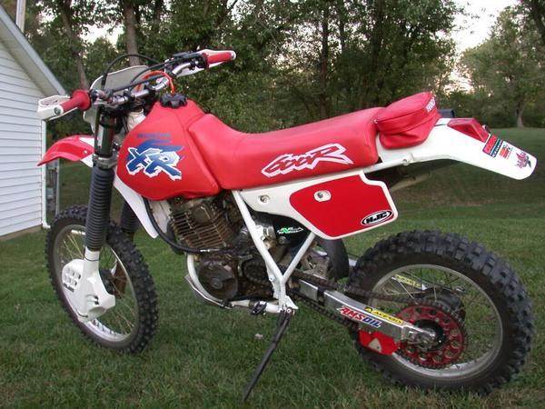 Фотогалерея мотоцикла Honda-XR-600 - фото 5