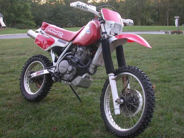 Фотогалерея мотоцикла Honda-XR-600 - фото 6
