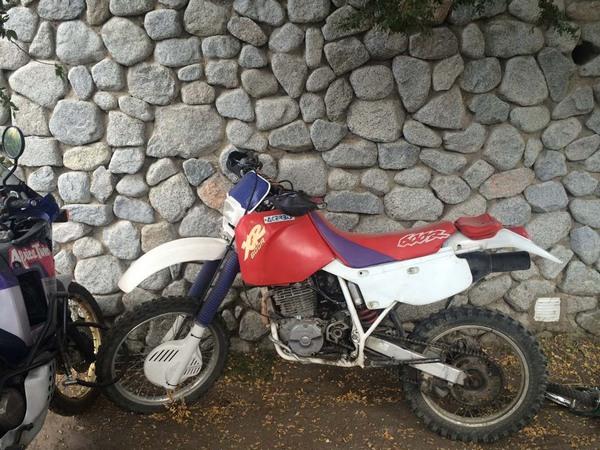 Фотогалерея мотоцикла Honda-XR-600 - фото 8