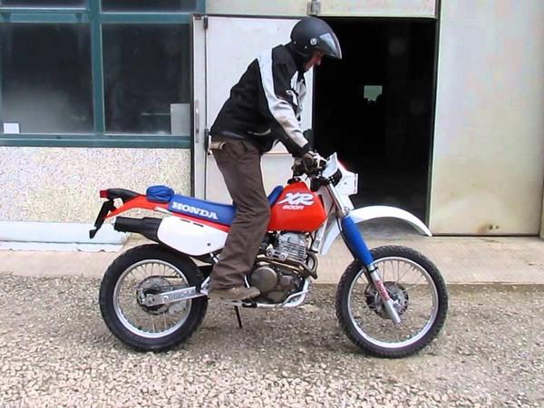 Фотогалерея мотоцикла Honda-XR-600 - фото 10