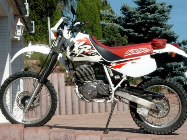 Фотогалерея мотоцикла Honda-XR-600 - фото 12